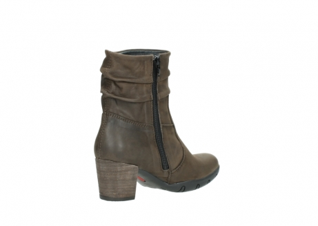 wolky mid calf boots 03676 colville 50150 taupe oiled leather_10