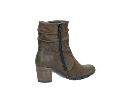 wolky mid calf boots 03676 colville 50150 taupe oiled leather_11