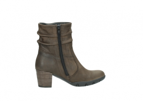 wolky mid calf boots 03676 colville 50150 taupe oiled leather_12