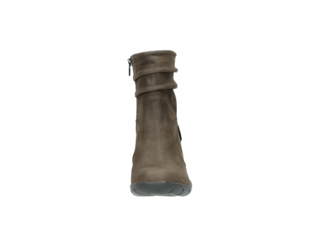 wolky mid calf boots 03676 colville 50150 taupe oiled leather_19