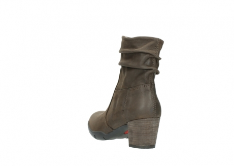 wolky mid calf boots 03676 colville 50150 taupe oiled leather_5