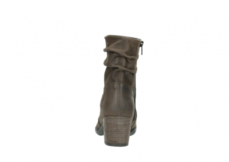 wolky mid calf boots 03676 colville 50150 taupe oiled leather_7