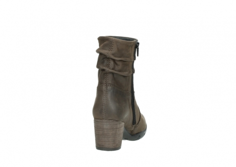 wolky mid calf boots 03676 colville 50150 taupe oiled leather_8