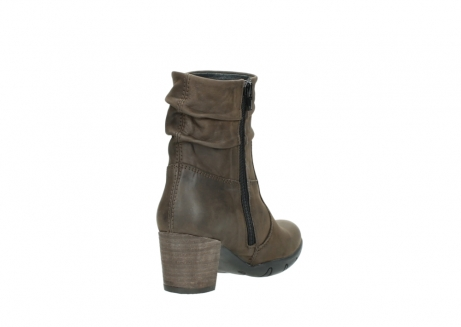 wolky mid calf boots 03676 colville 50150 taupe oiled leather_9