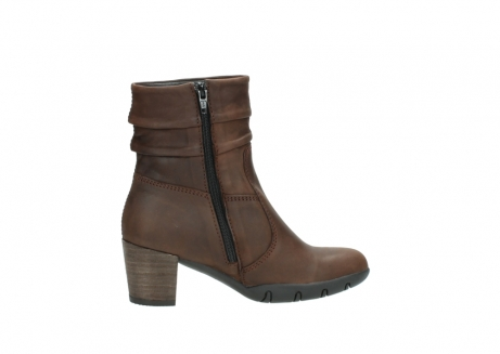 wolky mid calf boots 03676 colville 50300 brown oiled leather_12