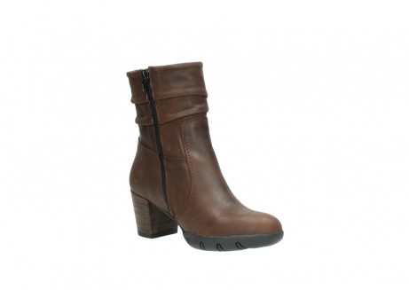 wolky mid calf boots 03676 colville 50300 brown oiled leather_16