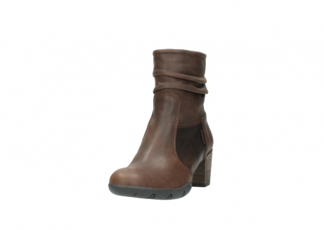 wolky mid calf boots 03676 colville 50300 brown oiled leather_21
