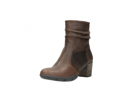 wolky mid calf boots 03676 colville 50300 brown oiled leather_22