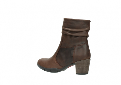 wolky mid calf boots 03676 colville 50300 brown oiled leather_3