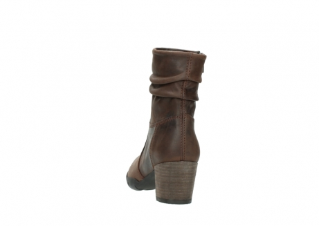 wolky mid calf boots 03676 colville 50300 brown oiled leather_6