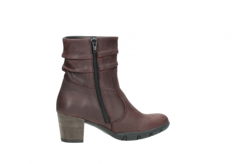 wolky mid calf boots 03676 colville 50510 burgundy oiled leather_12