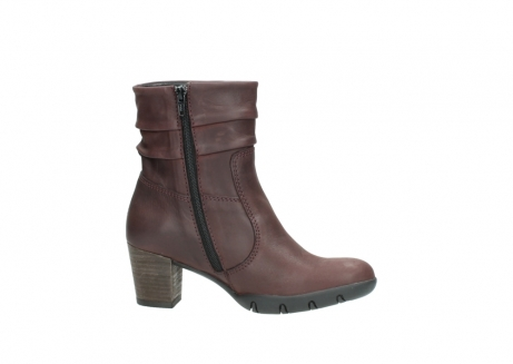 wolky mid calf boots 03676 colville 50510 burgundy oiled leather_14