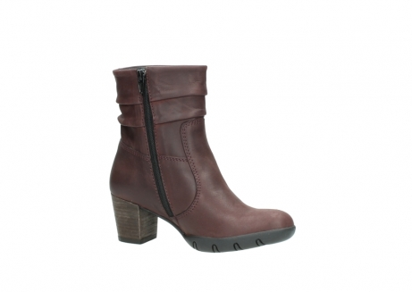 wolky mid calf boots 03676 colville 50510 burgundy oiled leather_15