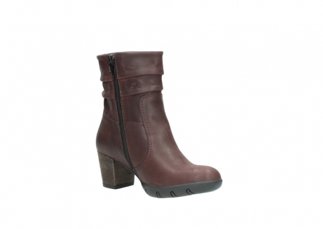 wolky mid calf boots 03676 colville 50510 burgundy oiled leather_16