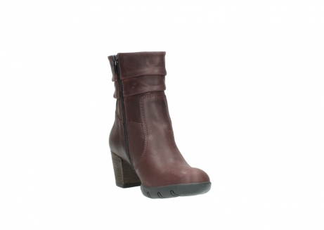 wolky mid calf boots 03676 colville 50510 burgundy oiled leather_17