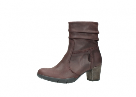 wolky mid calf boots 03676 colville 50510 burgundy oiled leather_24
