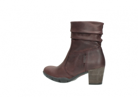 wolky mid calf boots 03676 colville 50510 burgundy oiled leather_3