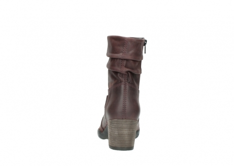 wolky mid calf boots 03676 colville 50510 burgundy oiled leather_7