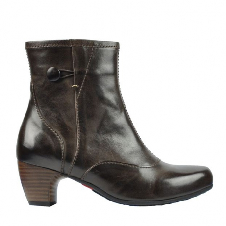 wolky mid calf boots 03728 fiona 30300 brown leather