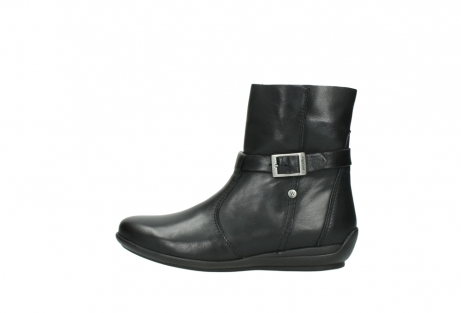 wolky halfhoge laarzen 0381 solano 200 zwart leer_1