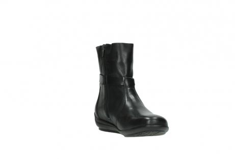 wolky halfhoge laarzen 0381 solano 200 zwart leer_17