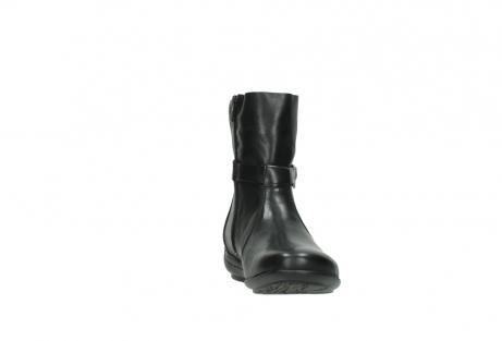wolky halfhoge laarzen 0381 solano 200 zwart leer_18