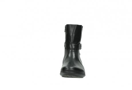 wolky halfhoge laarzen 0381 solano 200 zwart leer_19