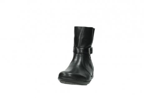 wolky halfhoge laarzen 0381 solano 200 zwart leer_20