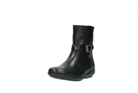 wolky halfhoge laarzen 0381 solano 200 zwart leer_21