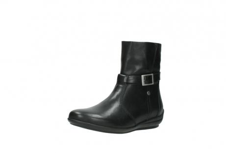 wolky halfhoge laarzen 0381 solano 200 zwart leer_22