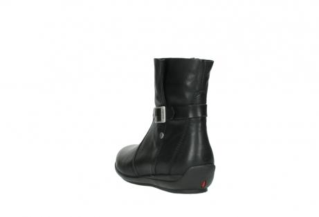 wolky halfhoge laarzen 0381 solano 200 zwart leer_5