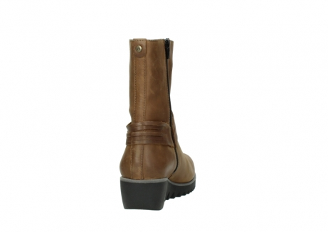 wolky mid calf boots 03822 angel 50432 cognac leather_8