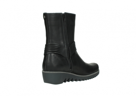 wolky mid calf boots 03823 angel cw 50002 black leather_10