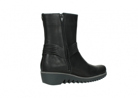 wolky mid calf boots 03823 angel cw 50002 black leather_11