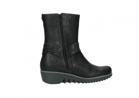 wolky mid calf boots 03823 angel cw 50002 black leather_12