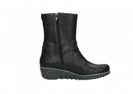 wolky mid calf boots 03823 angel cw 50002 black leather_13