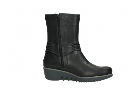 wolky mid calf boots 03823 angel cw 50002 black leather_14