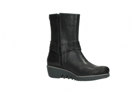 wolky mid calf boots 03823 angel cw 50002 black leather_15