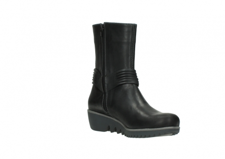 wolky mid calf boots 03823 angel cw 50002 black leather_16