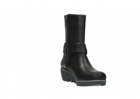 wolky mid calf boots 03823 angel cw 50002 black leather_17