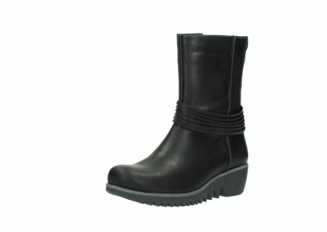 wolky mid calf boots 03823 angel cw 50002 black leather_22