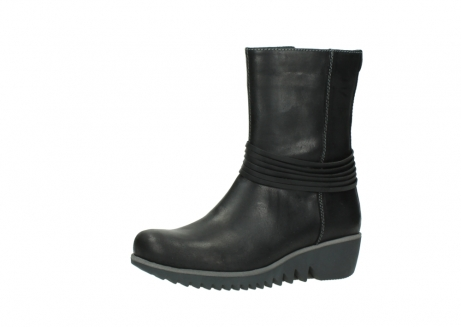 wolky mid calf boots 03823 angel cw 50002 black leather_23