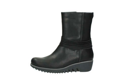 wolky mid calf boots 03823 angel cw 50002 black leather_24