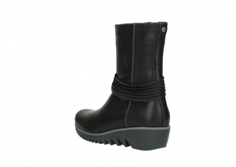wolky mid calf boots 03823 angel cw 50002 black leather_4