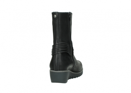 wolky mid calf boots 03823 angel cw 50002 black leather_8