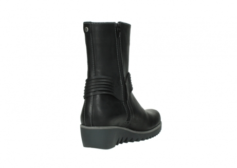 wolky mid calf boots 03823 angel cw 50002 black leather_9