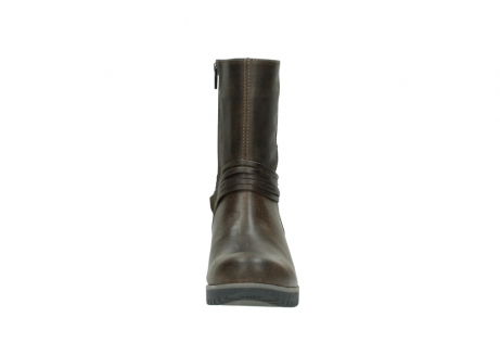 wolky bottes mi hautes 03823 angel cw 50152 cuir taupe_19
