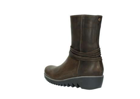 wolky bottes mi hautes 03823 angel cw 50152 cuir taupe_4