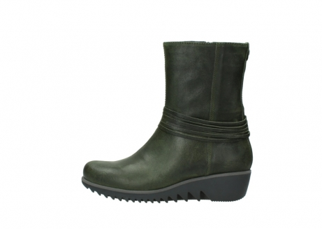wolky mid calf boots 03823 angel cw 50732 forestgreen leather_1