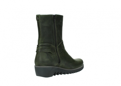 wolky mid calf boots 03823 angel cw 50732 forestgreen leather_10